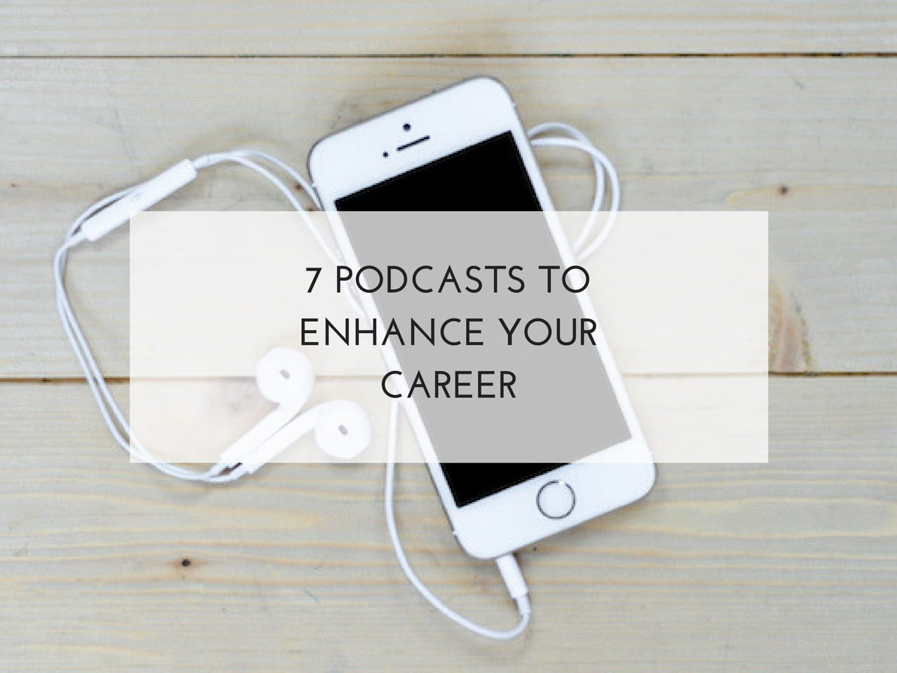 7 podcasts to enhance your career. Fay Wallis. Bright Sky HR